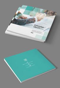 商务合作现代商业画册封面