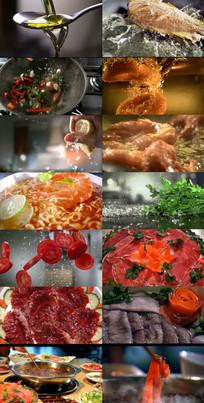 美食广告片各类美食展示视频