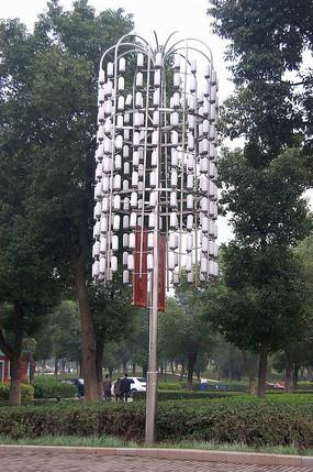 垂挂式灯柱意向