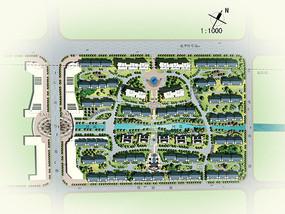 居住区规划总平面图