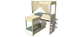 3D高低床