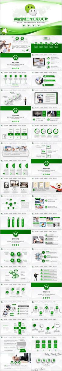 微信营销运营方案微商PPT