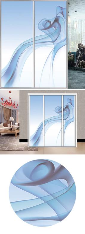 透明玻璃花纹