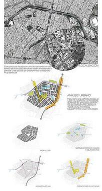 景观分析图排版设计