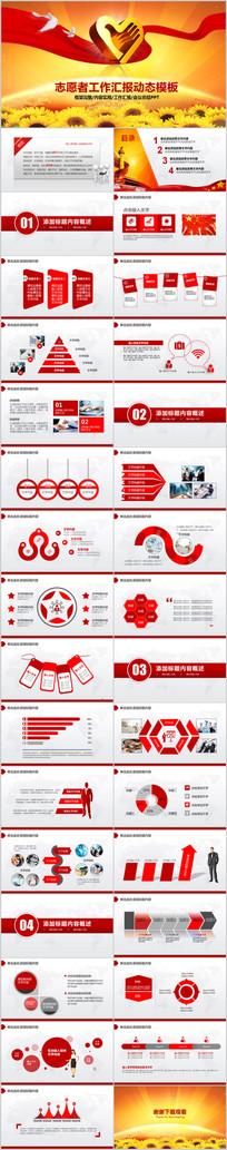 中国青年志愿者服务日PPT