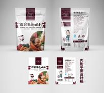 果蔬零食脆片包装袋设计
