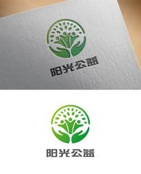 阳光公益项目互助logo