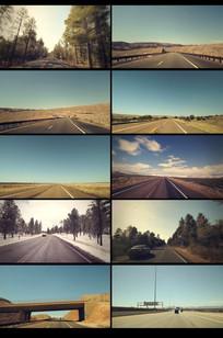 各种高速公路加速穿梭穿越视频