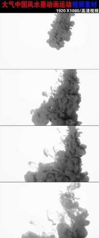 大气水墨运动视频素材下载