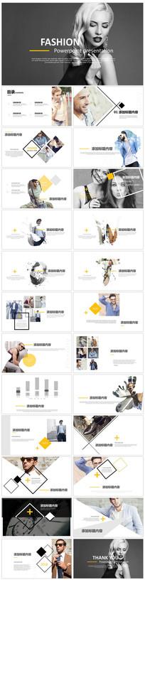 时尚走秀营销介绍PPT模版