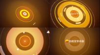 科技LOGO全息片头AE模版