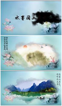 premiere水墨国画宣传视频