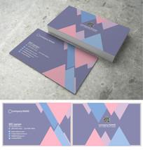 三角分割名片