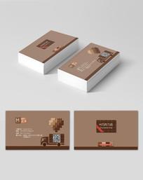 创意巧克力店名片