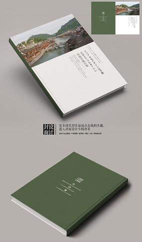 日系版式湖南凤凰旅游画册封面