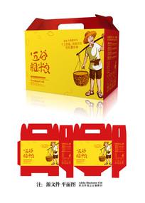 杂粮礼盒包装