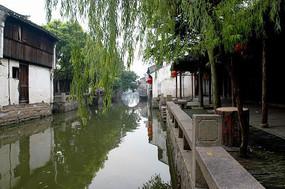 周庄河道风景
