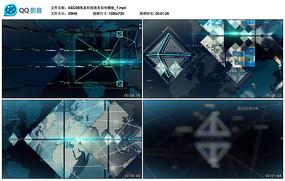 AECS6线条商务宣传模板