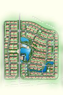 小区绿化设计彩平