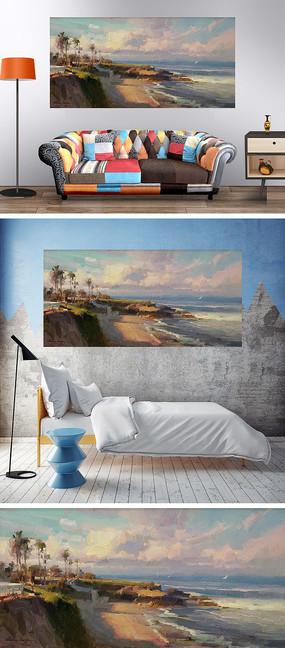 唯美海边海边沙滩