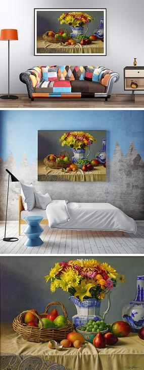 花瓶装饰画