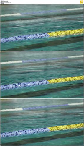 游泳池水面实拍视频素材