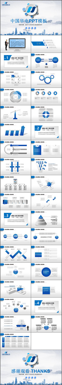 中国华电集团公司工作PPT
