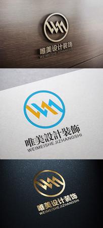 室内家装广告装饰设计公司标志