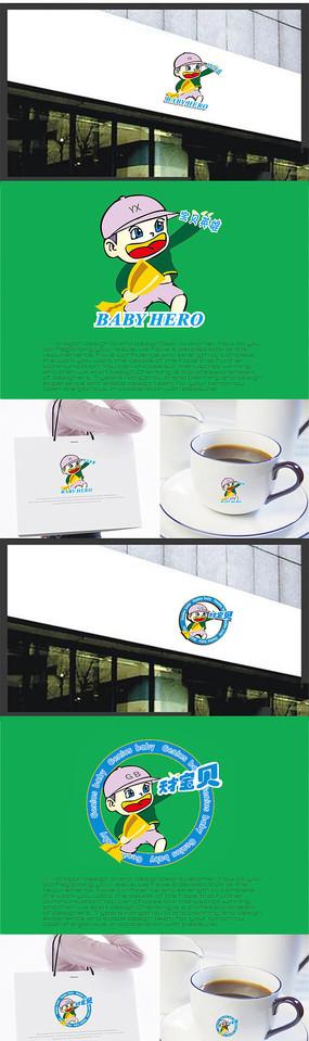 婴儿品牌LOGO设计