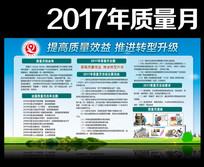 2017年质量月活动展板