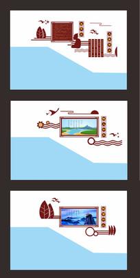 大气楼道文化设计