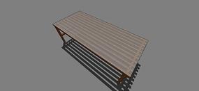 防腐木坐凳