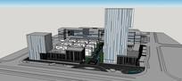 马鞍山软件园建筑设计方案