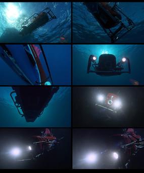 水下拍摄仪器视频