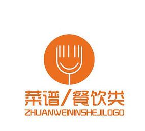餐饮公司logo美食厨房