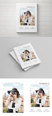 创意大气摄影杂志画册封面设计