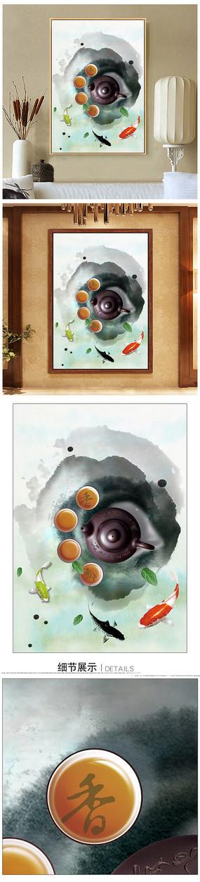 禅意新中式装饰画