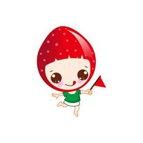 草莓卡通形象设计