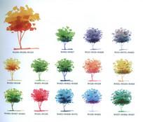植物马克笔手绘画法
