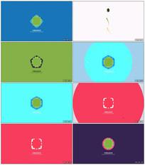 创意线条MG动画Logo展示视频