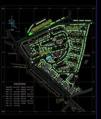 多层小区建筑平面图纸