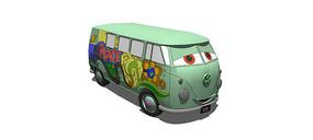 卡通汽车造型玩具