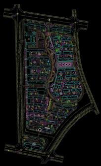 住宅建筑CAD平面图纸