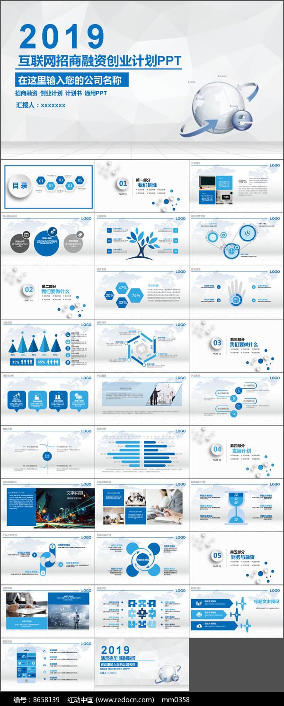 互联网商业策划PPT模板