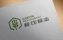 大气稻穗意向餐饮行业logo