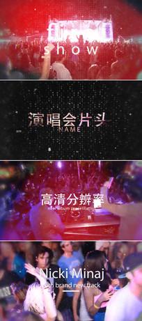 动感音乐演唱会视频片头模板