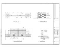 栏杆样式及安装详图