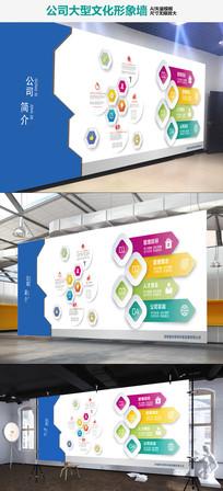 立体企业文化墙办公室形象墙