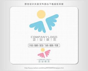 母嬰店logo