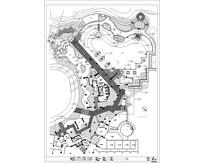 园施泳池平面图